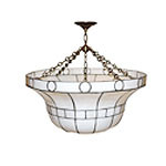 Leaded Glass Fixtures